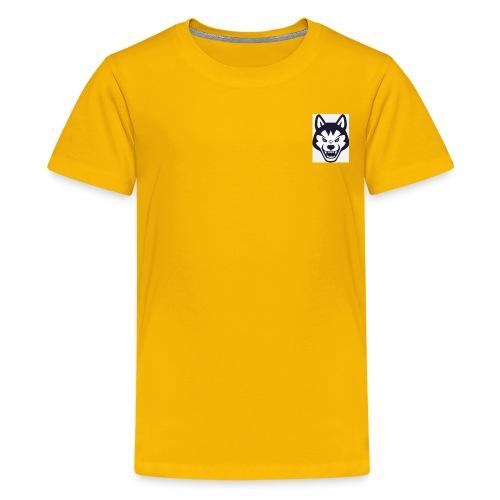 because its my fist logo - Kids' Premium T-Shirt