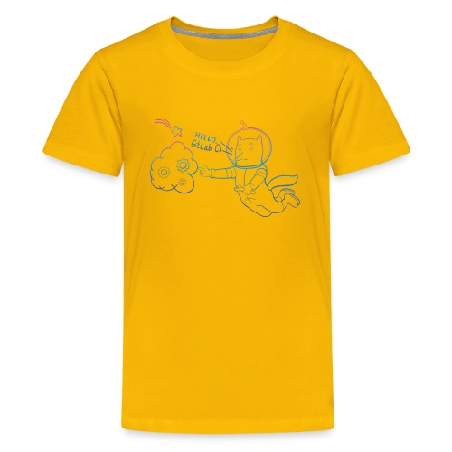 Meet GitLab CI/CD! - Kids' Premium T-Shirt