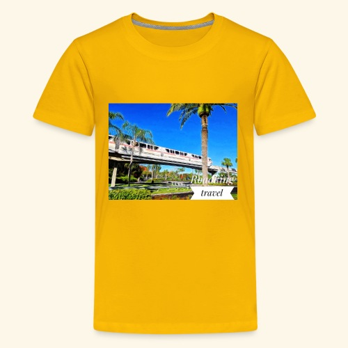 speed of rail - Kids' Premium T-Shirt