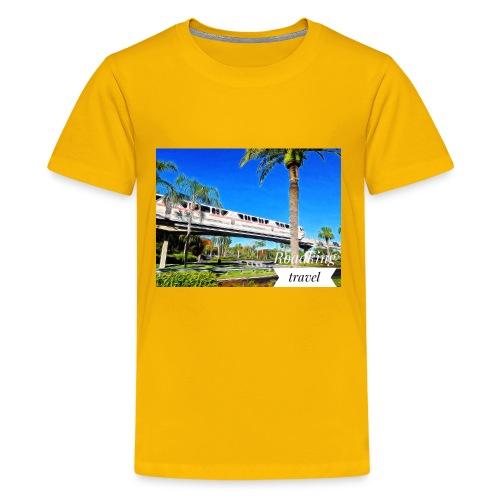 speed of rail - Kids' Premium T-Shirt