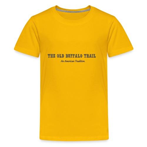 Buffalo Trail - Kids' Premium T-Shirt