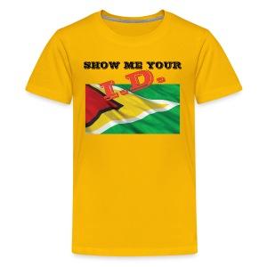 Show Me Your I D Guyana - Kids' Premium T-Shirt