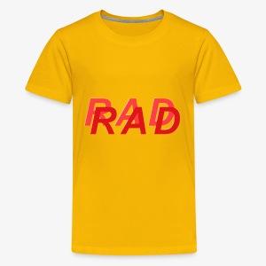 RAD IN RED - Kids' Premium T-Shirt