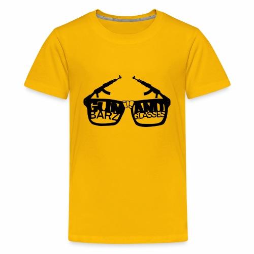 Gun Barz N Glasses - Kids' Premium T-Shirt