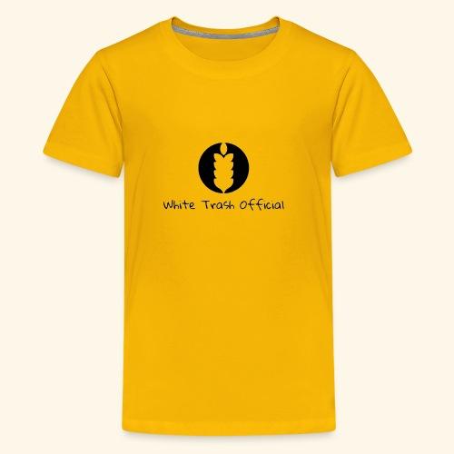 the white trash official - Kids' Premium T-Shirt
