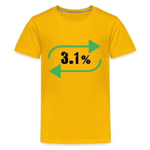 3.1% - Kids' Premium T-Shirt