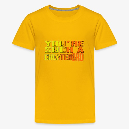 You're such a cheater bro - Kids' Premium T-Shirt