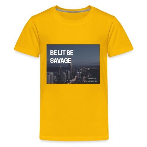 17C025B5 D32D 4FB1 834E 73D2D594C3E7 - Kids' Premium T-Shirt