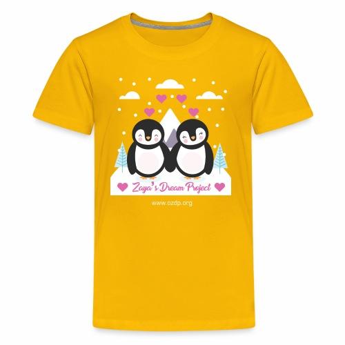 Couple penguin design - Kids' Premium T-Shirt