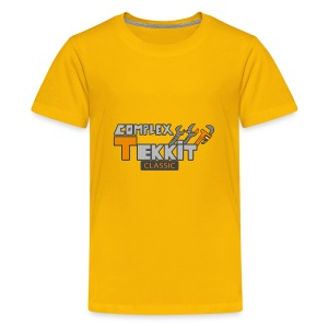 Alex Complex Tekkit logo - Kids' Premium T-Shirt