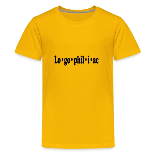 logophiliac - Kids' Premium T-Shirt