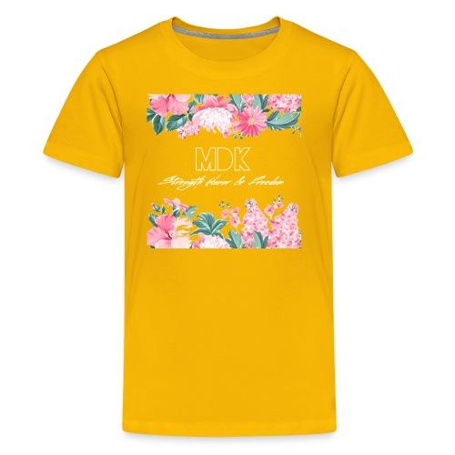 MDK Floral - Kids' Premium T-Shirt