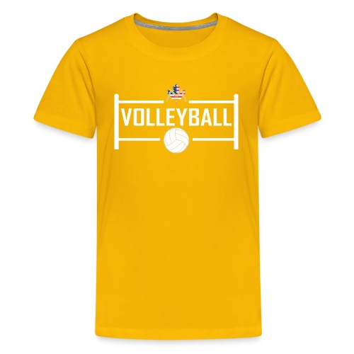 Block City Volleyball Design - Kids' Premium T-Shirt