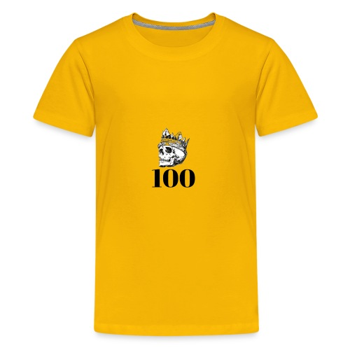 100 subs merch - Kids' Premium T-Shirt