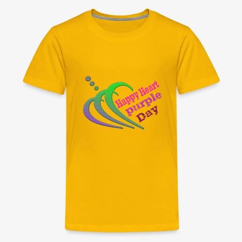 happy heart - Kids' Premium T-Shirt