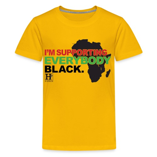 I'm Supporting Everybody Black - Kids' Premium T-Shirt