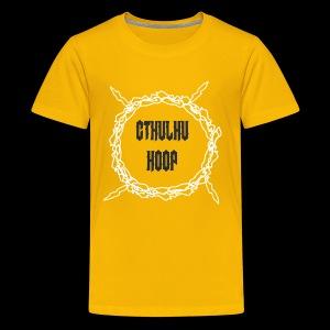 Cthulu Hoop - Kids' Premium T-Shirt