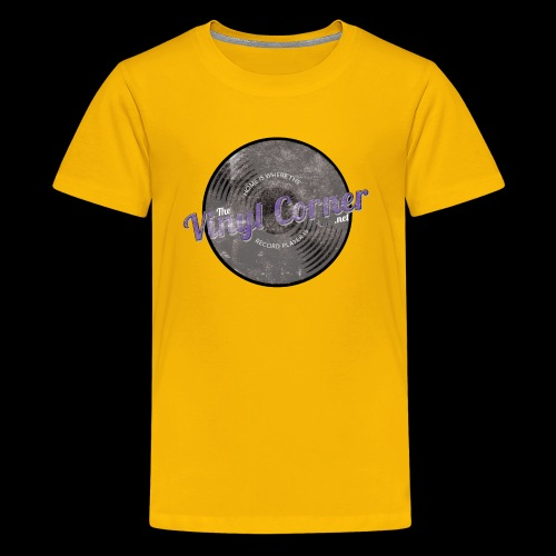 The Vinyl Corner - Deep purple - Kids' Premium T-Shirt