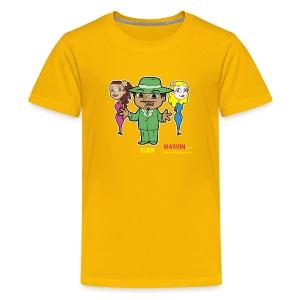 Slick from Marvin the Simp Cartoon - Kids' Premium T-Shirt