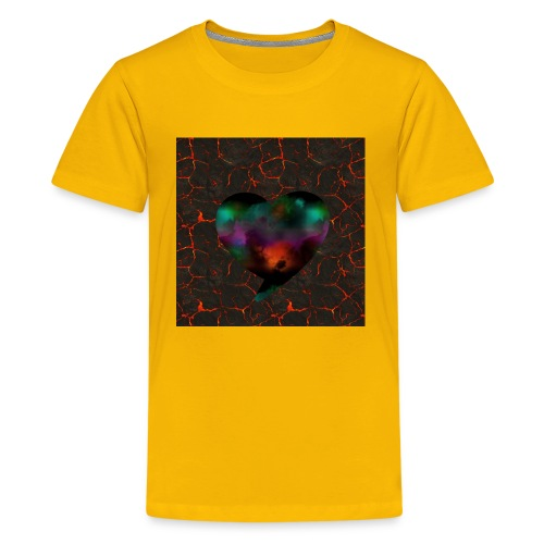 Heart of fire - Kids' Premium T-Shirt
