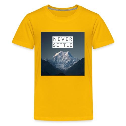 Never settle bundle - Kids' Premium T-Shirt