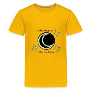 Follow The Moon - Kids' Premium T-Shirt