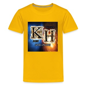 K.H. logo - Kids' Premium T-Shirt
