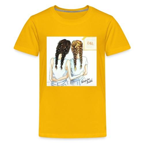 Braid bff's - Kids' Premium T-Shirt