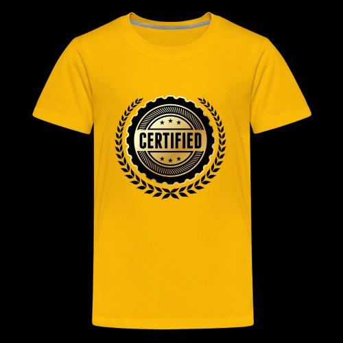 Block certified - Kids' Premium T-Shirt