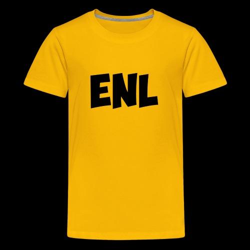 ENL Productions Merchandise (Black) - Kids' Premium T-Shirt