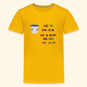 The cup - Kids' Premium T-Shirt