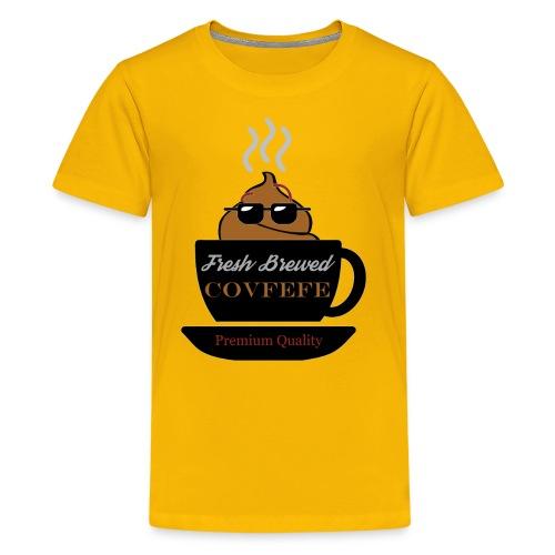 Fresh Brewed Covfefe - Kids' Premium T-Shirt