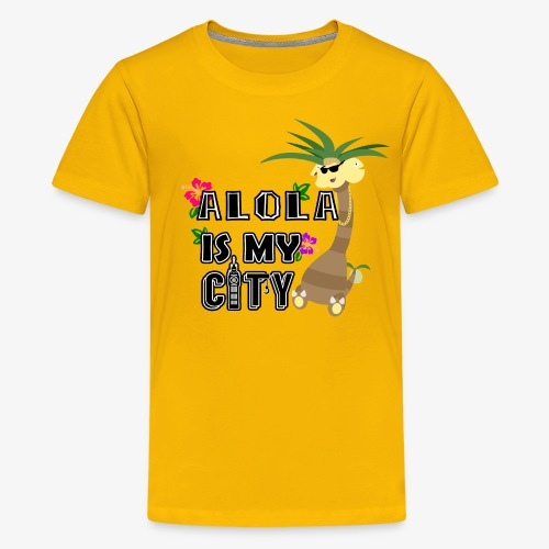 Alola Is My City Print - Kids' Premium T-Shirt