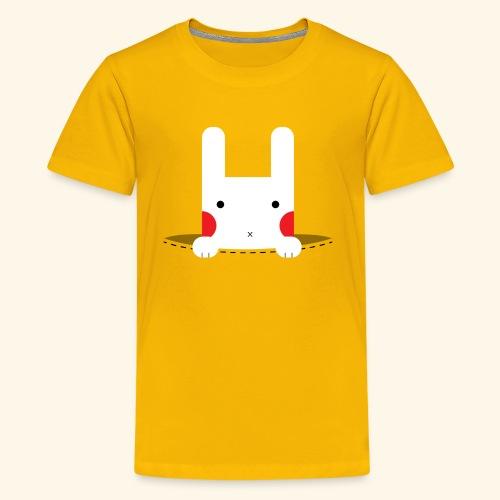 Pocket Bunny - Kids' Premium T-Shirt