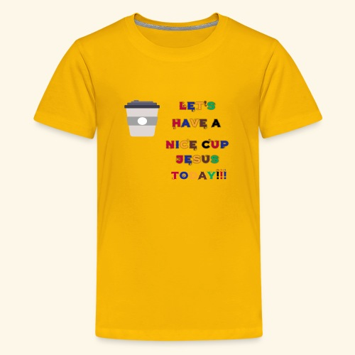 The cup - Kids' Premium T-Shirt