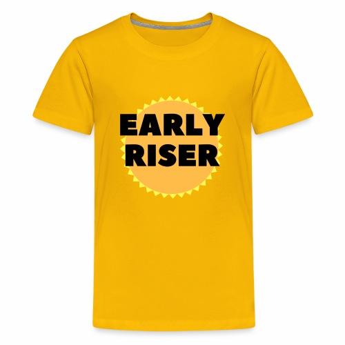 Early Riser - Kids' Premium T-Shirt