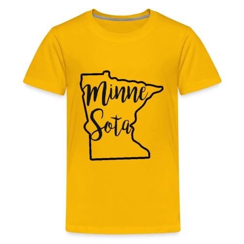 Minnie Sota Minne Sota Favorite State - Kids' Premium T-Shirt