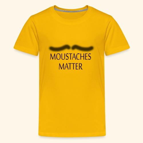 Movember Matters - Kids' Premium T-Shirt