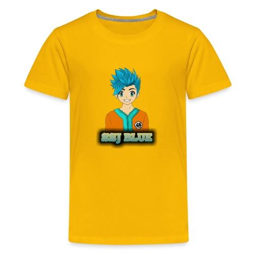 SSJ BLUE - Kids' Premium T-Shirt
