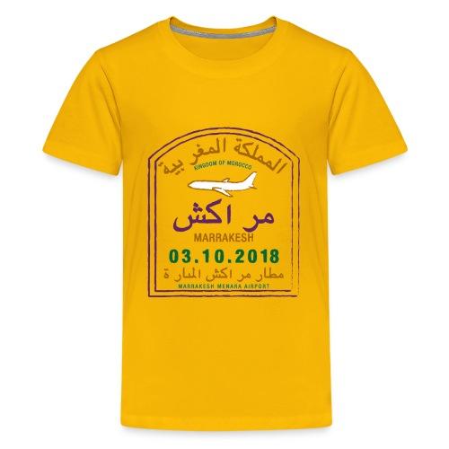 Moroccan Traveler - Kids' Premium T-Shirt