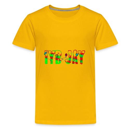 IYB JAY XMAS LOGO - Kids' Premium T-Shirt