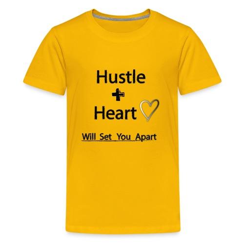 Hustle + Heart - Kids' Premium T-Shirt