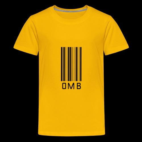 Omb-barcode - Kids' Premium T-Shirt