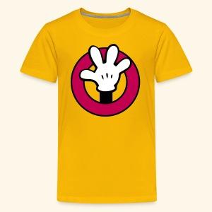 Hands Up! [for adventure] - Kids' Premium T-Shirt