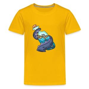 Tentacle on a bottle - Kids' Premium T-Shirt