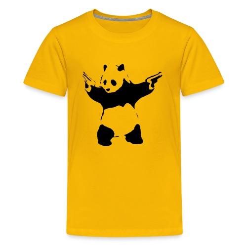 Shoot Em Up Panda - Kids' Premium T-Shirt
