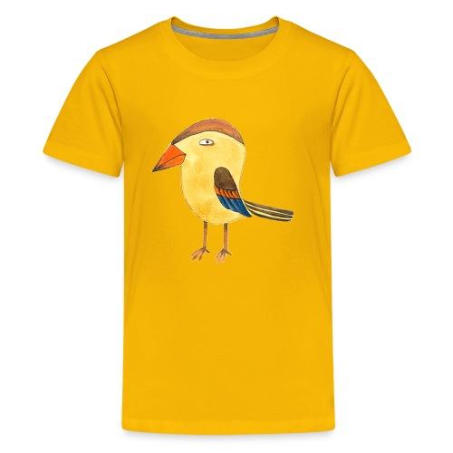 Yellow Bird color - Kids' Premium T-Shirt