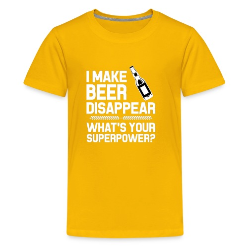 i Make Beer Funny Beer T Shirt And Hoodie - Kids' Premium T-Shirt