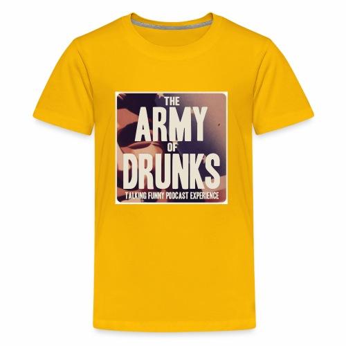 Army of Drunks Classic Logo - Kids' Premium T-Shirt