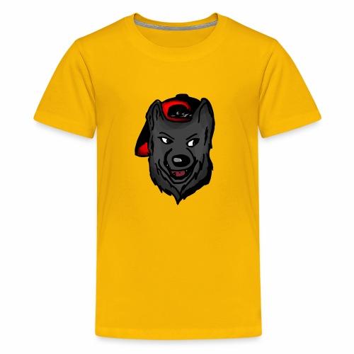 Wolf logo 2 - Kids' Premium T-Shirt